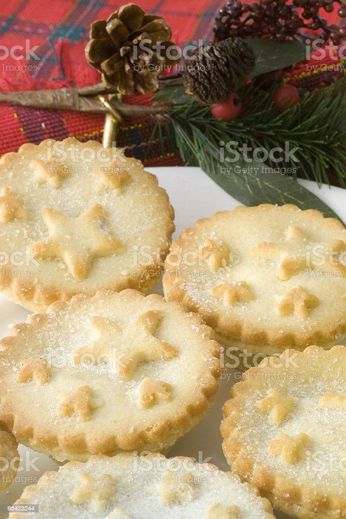 Weihnachten mince pies Lizenzfreies stock-foto
