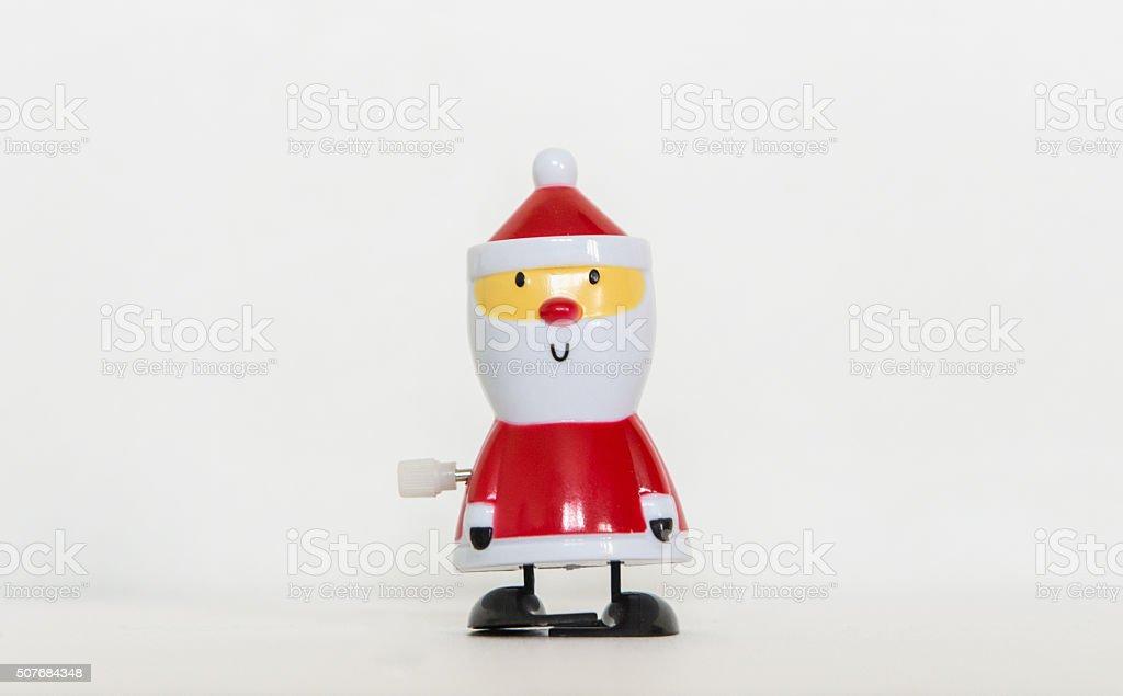 Weihnachten kleine Spielzeug Figur. – Foto