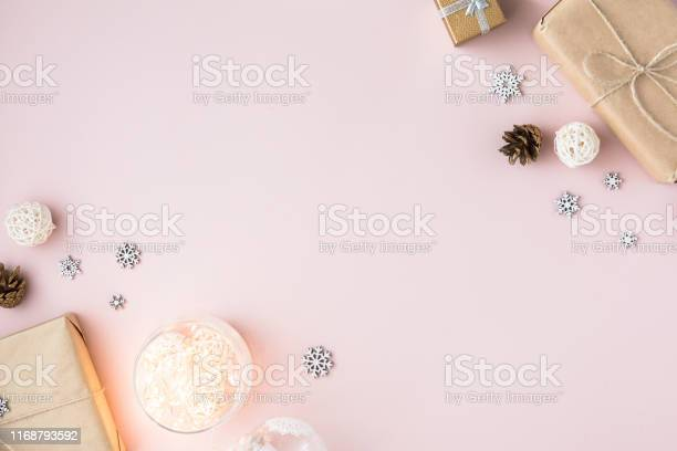 Christmas minimal background with copy space on pink background picture id1168793592?b=1&k=6&m=1168793592&s=612x612&h=t7tpusoxnozseoqgf e4kybz0mbmtxht3fu wqtjvjs=