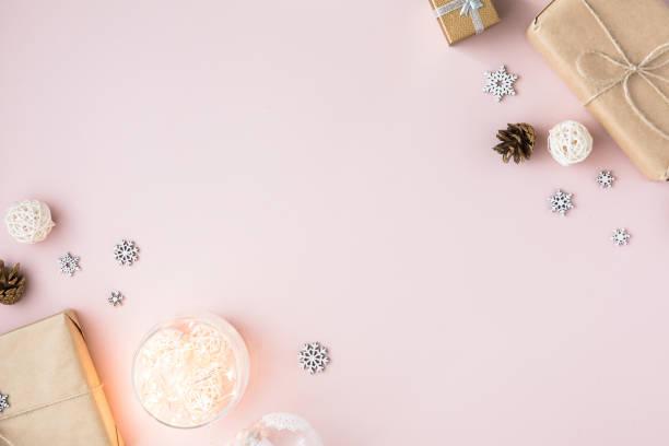 Christmas minimal background with copy space on pink background picture id1168793592?b=1&k=6&m=1168793592&s=612x612&w=0&h=8f1fwyq7acrx8axzb8p4txz9o0hk8uatw7l4c5u9ynk=