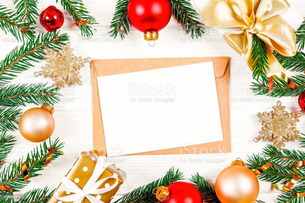 Winterurlaub Weihnachten 2019.Weihnachtenmoodkonzept Festlichen Hintergrund Für Einen Winterurlaub