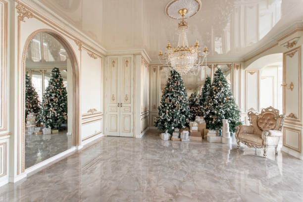 Best Decorating Columns For Christmas Stock Photos, Pictures ...
