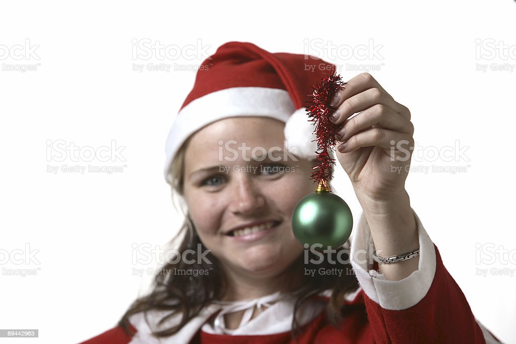 Christmas Mrs Claus royalty-free stock photo