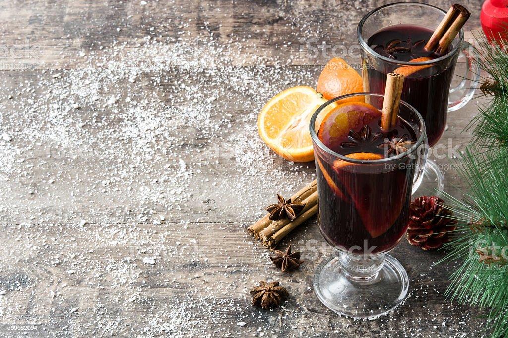 Christmas mulled wine royalty free stockfoto