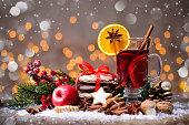istock Christmas mulled wine 681752010