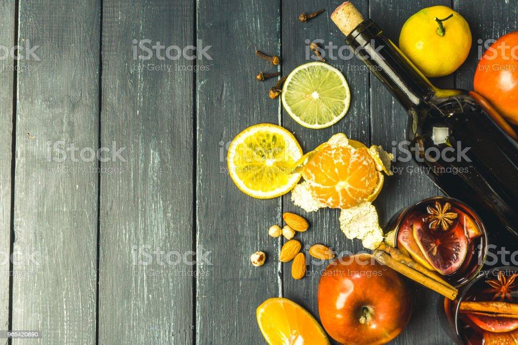 Noël Vin chaud - Photo de Alcool libre de droits