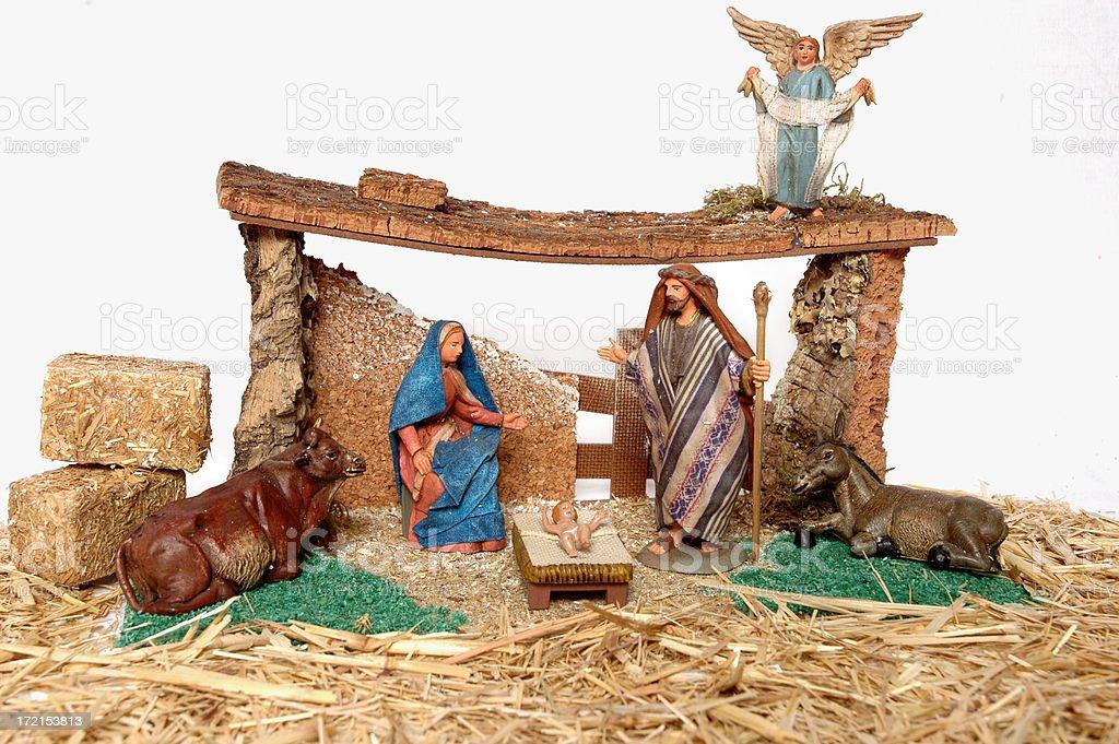 Christmas Nativity royalty-free stock photo