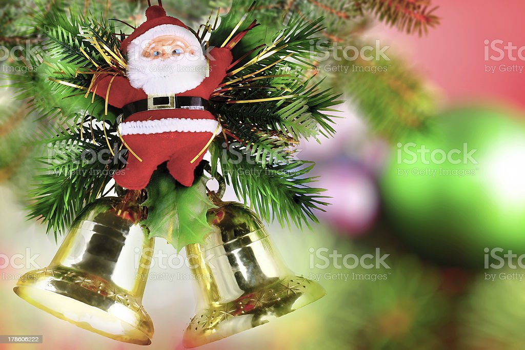 Christmas, New Year decoration-Santa Claus. royalty-free stock photo