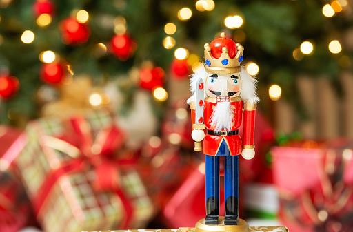 Christmas nutcracker figurine