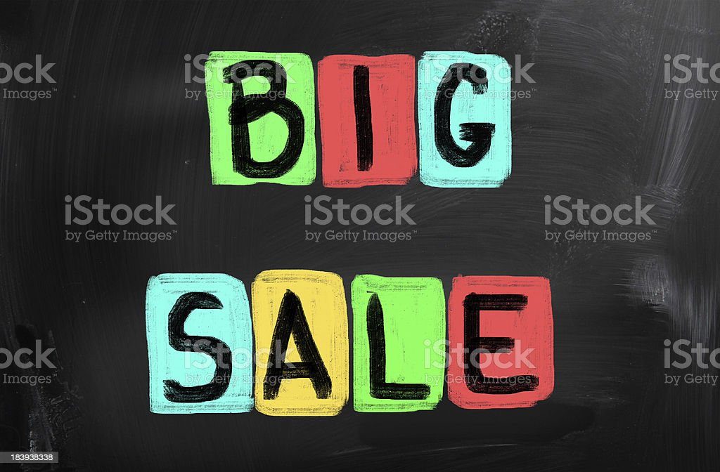 Christmas Offer royalty-free stock photo