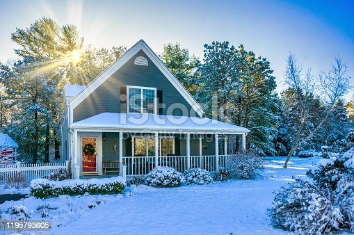 istock Christmas on Cape Cod 1195793605
