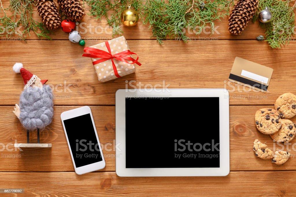 Weihnachten Onlineshoppinghintergrund Stock-Fotografie und mehr ...