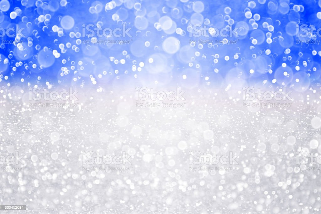 Christmas or Chanukah Glitter Background stock photo
