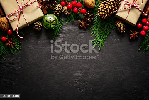 istock Christmas or New Year background 601910638