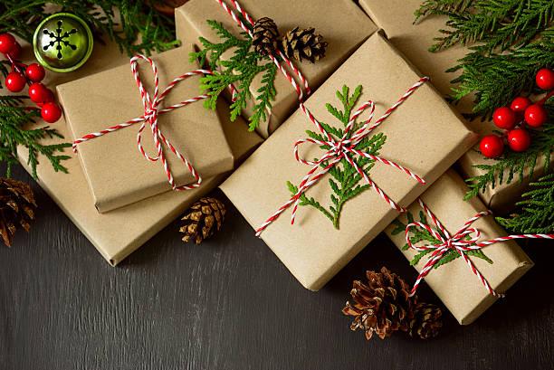 Natale e Anno Nuovo sfondo - foto stock