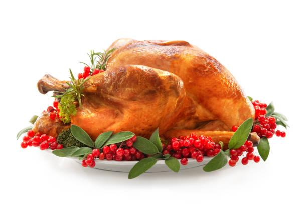 christmas or thanksgiving turkey - turkey zdjęcia i obrazy z banku zdjęć