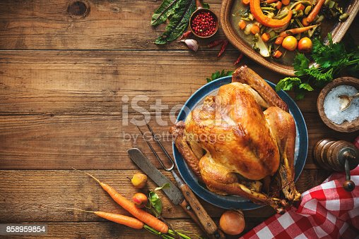 istock Christmas or Thanksgiving turkey 858959854