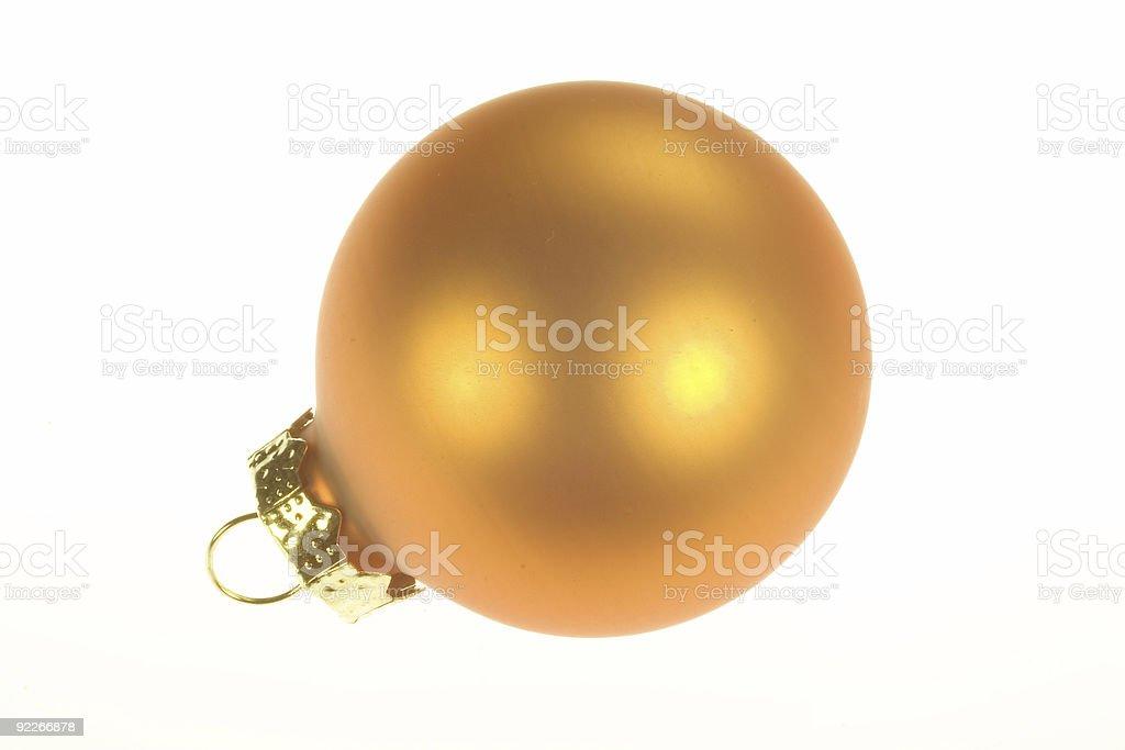 Christmas Ornament 1 royalty-free stock photo