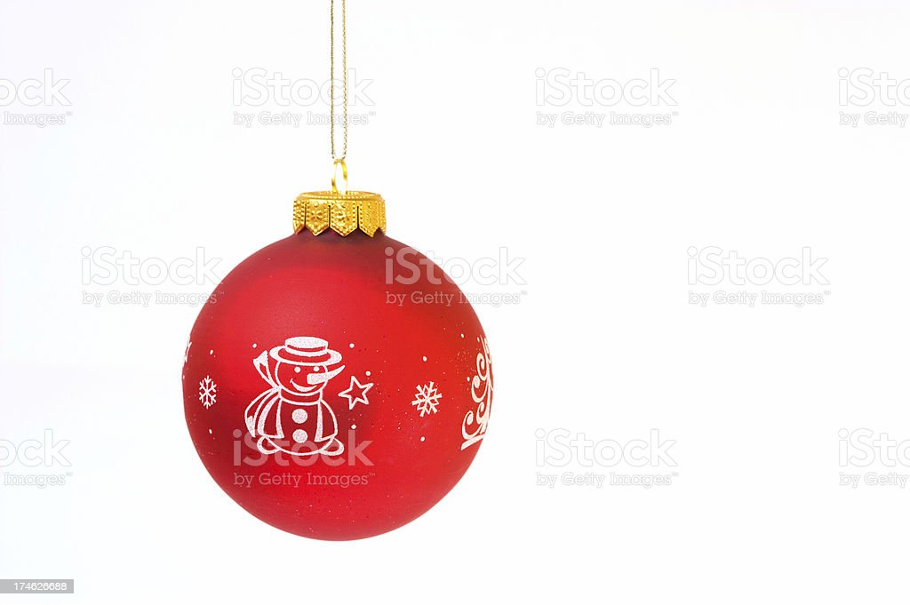 christmas ornament and decoration royalty-free stock photo