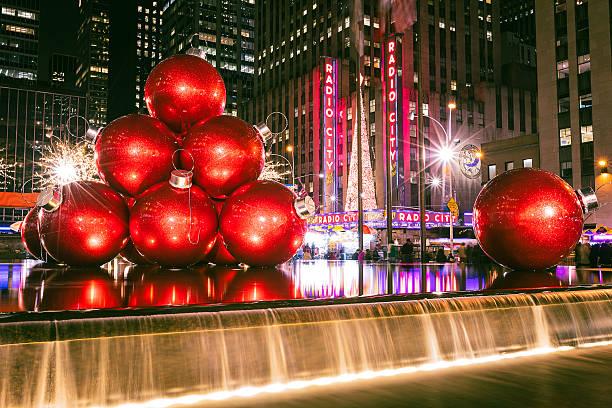 Christmas Ornament Balls stock photo