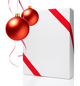 istock Christmas Ornament - Christmas Ball & Gift Box 689530776
