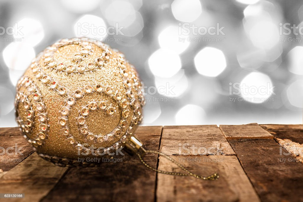 Christmas, winter holidays background of white and silver defocused...