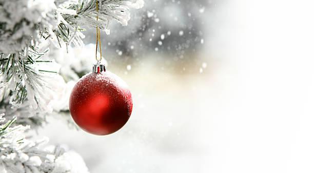 Bola de Árvore de Natal - foto de acervo