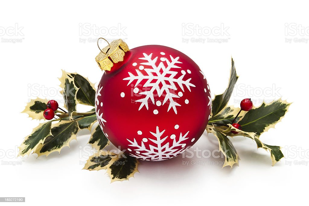 Christmas Ornament. royalty-free stock photo