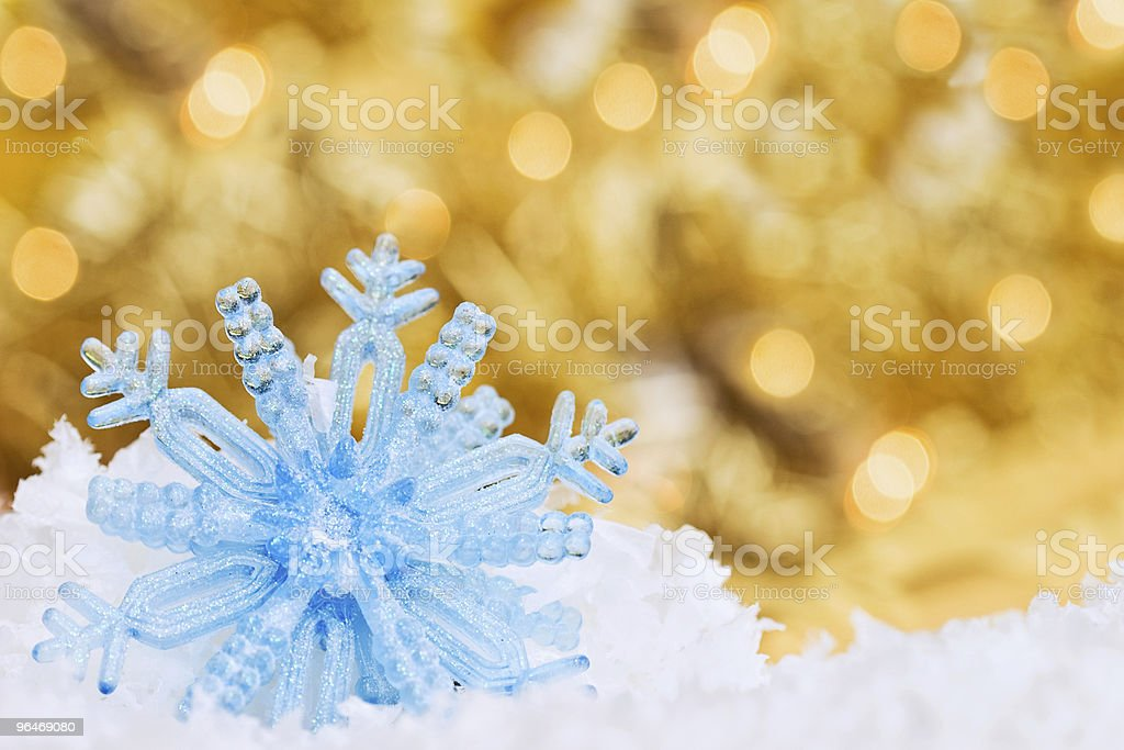 Christmas Ornament with Bokeh Background royalty-free stock photo