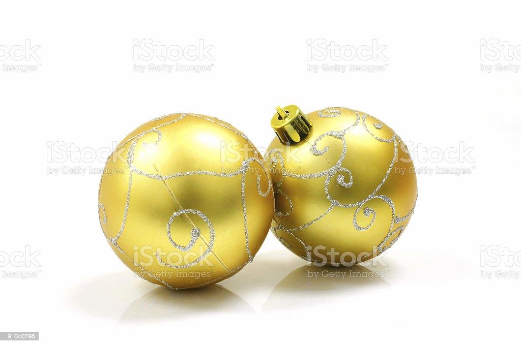 Christmas Ornaments Ball royalty-free stock photo