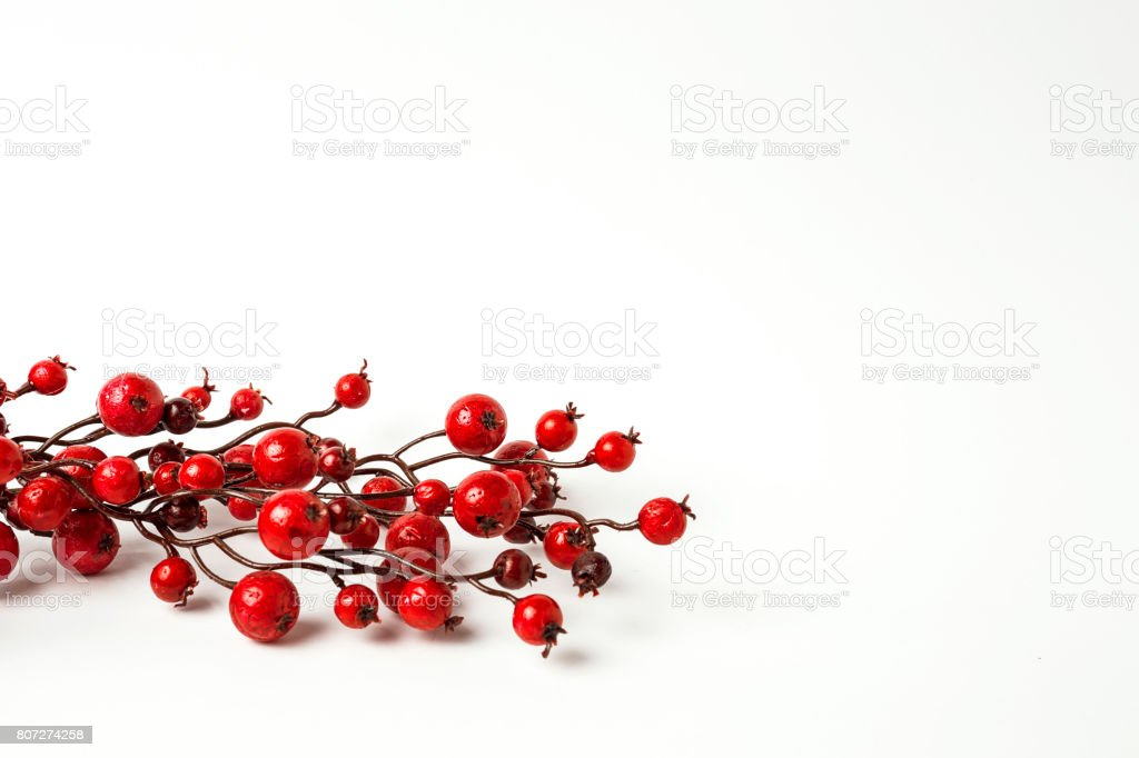 Christmas ornaments. Balls. Toys. Santa claus; Candles; Gifts; stock photo