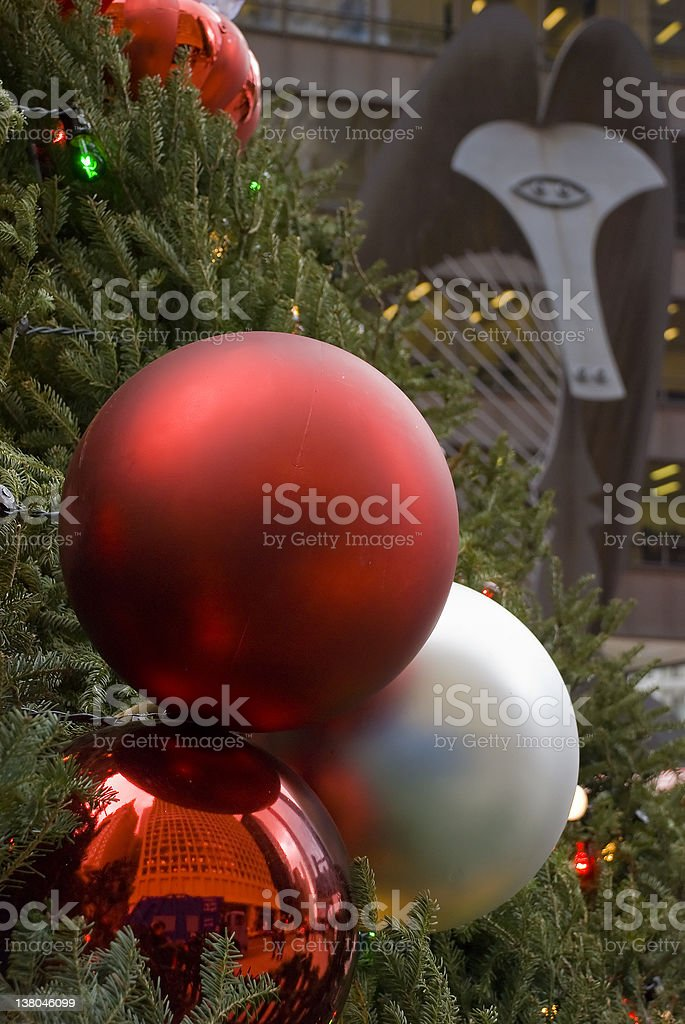 Christmas Ornaments by the Picasso stock photo