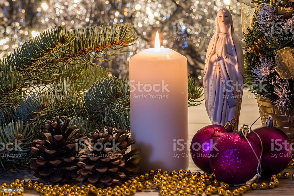 Christmas Ornaments Decorations Stock Photo More Pictures Of