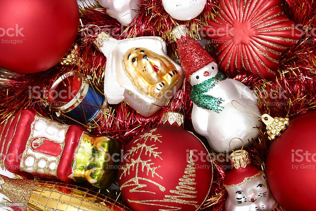 Christmas ornaments #6 royalty-free stock photo