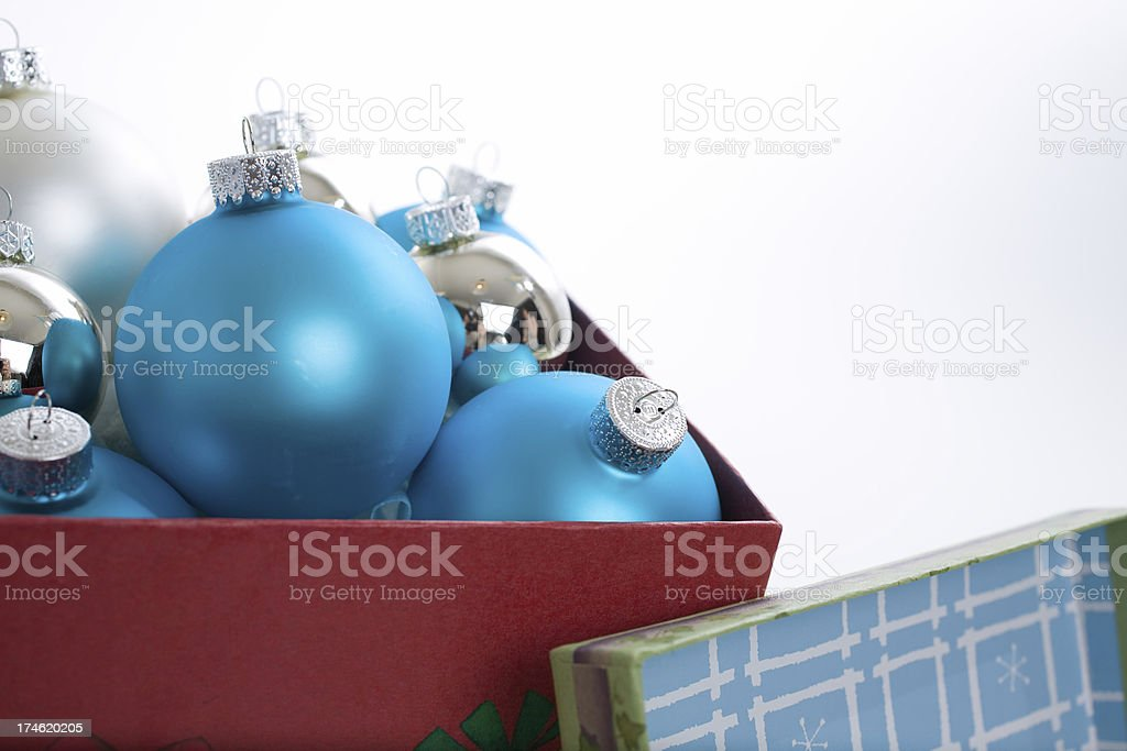 christmas ornaments royalty-free stock photo
