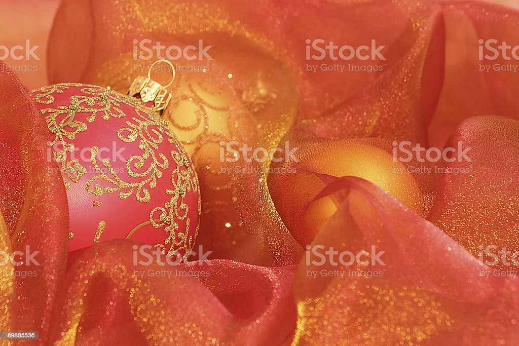 Christmas Ornaments royalty free stockfoto