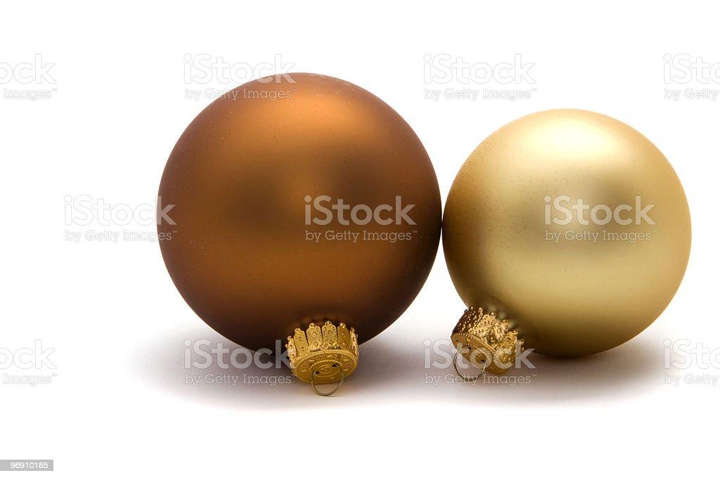 Christmas ornaments royalty-free stock photo