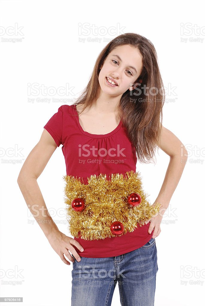 Christmas ornaments...everywhere ! royalty-free stock photo