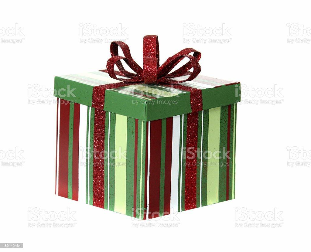 Pacchetto di Natale foto stock royalty-free