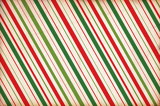 christmas paper background - gestreept stockfoto's en -beelden