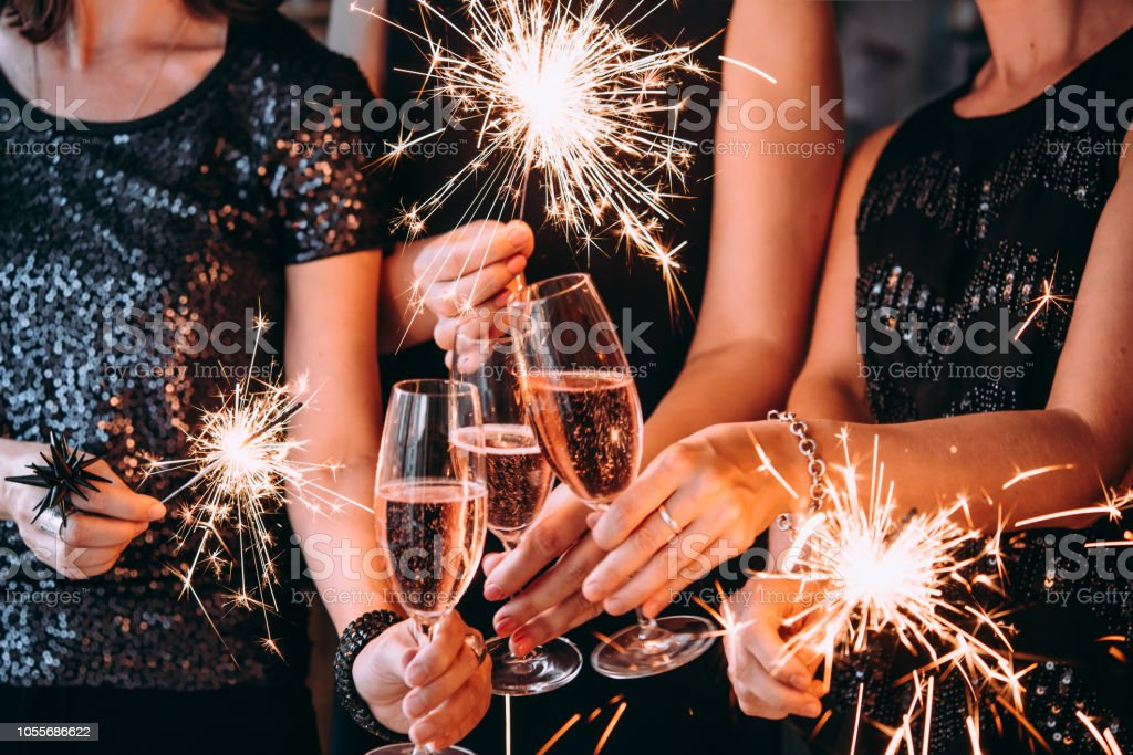 Christmas party - Foto stock royalty-free di Accogliente