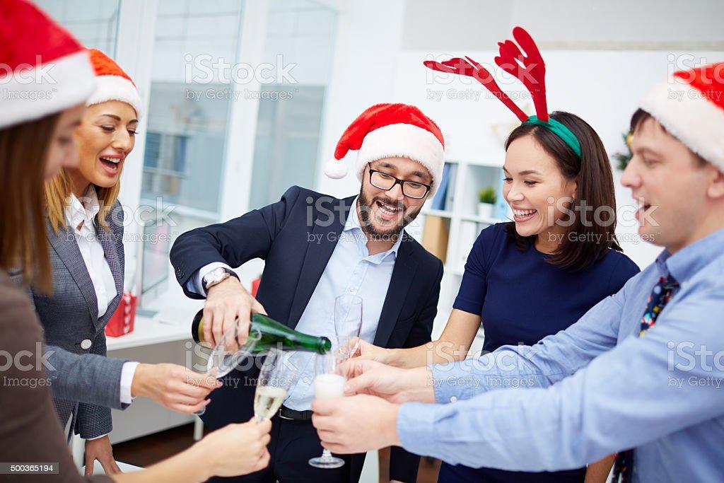 クリスマスパーティー ストックフォト