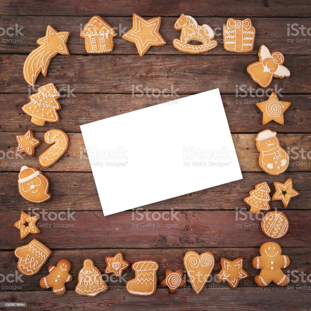 Fotorahmen Weihnachten.Weihnachtenfotorahmen Und Weihnachtskarte Stockfoto Und Mehr Bilder