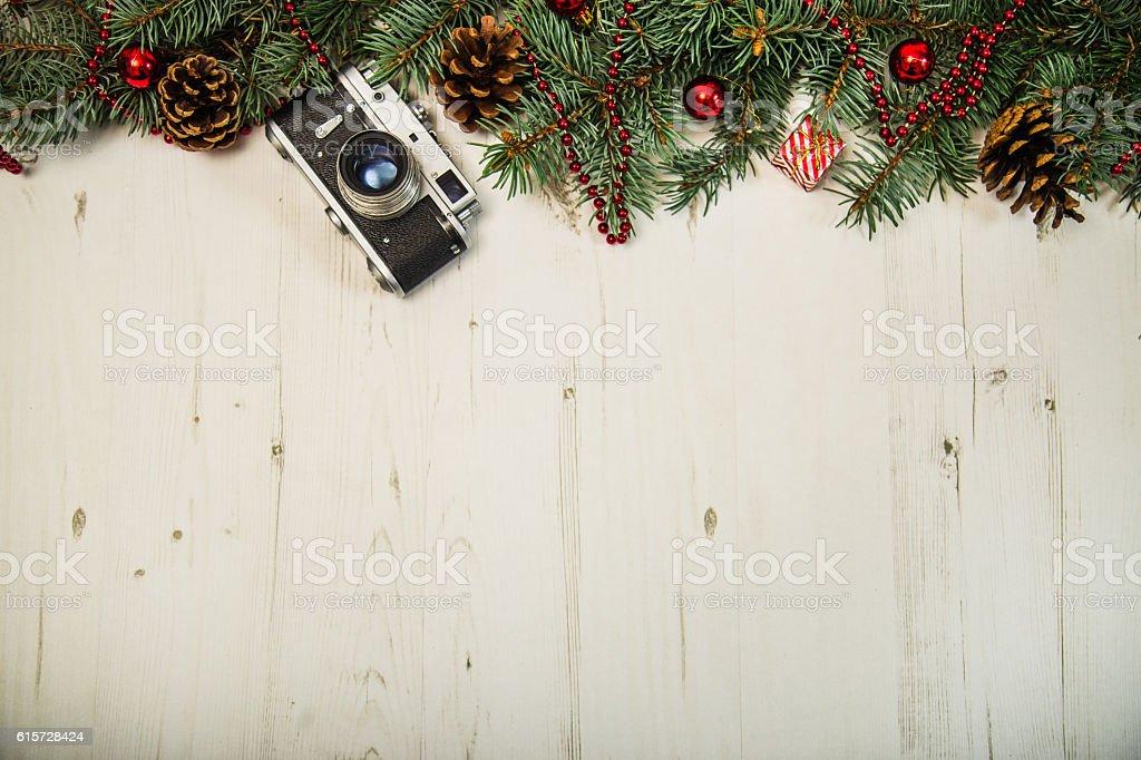 Christmas photography concept stock photo