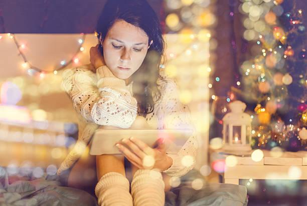 christmas-englische redewendung - weihnachtsprogramm stock-fotos und bilder