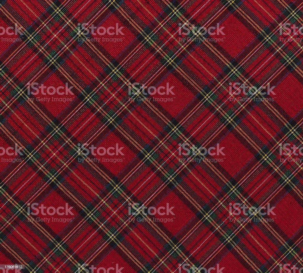 christmas plaid fabric royalty free stock photo - Christmas Plaid Fabric