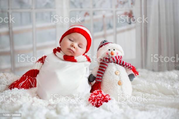 Christmas portrait of cute little newborn baby boy wearing santa hat picture id1038738866?b=1&k=6&m=1038738866&s=612x612&h=rjaqemdrfgikp2cr9ml6l6jmpifj4a1qaflfbcpb4ui=