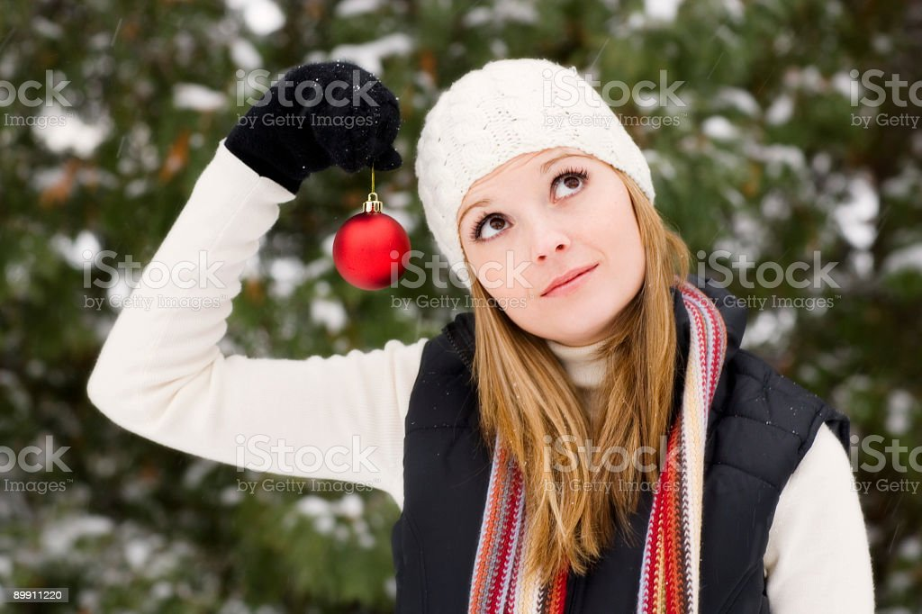 Christmas Portrait royalty-free stock photo