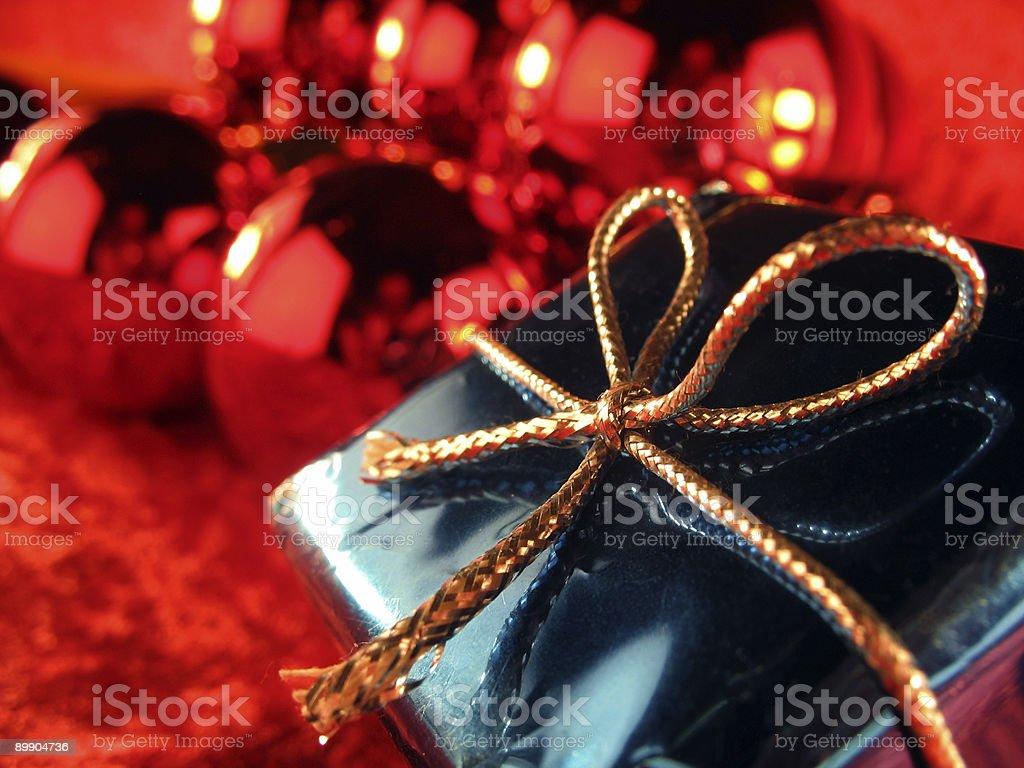 Christmas present 5 royalty-free stock photo