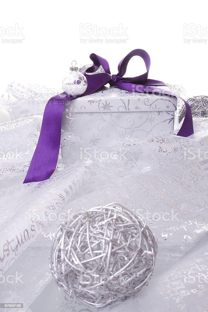 christmas present decoration royalty-free stock photo